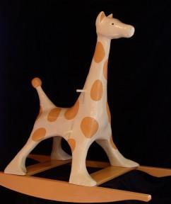 John Lennon-inspired Rocking Giraffe