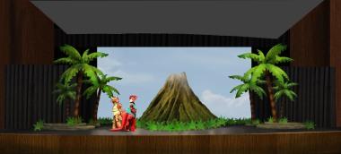 Volcano Rendering