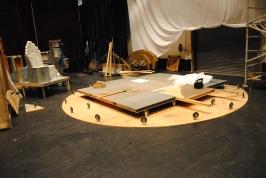 Turntable installation