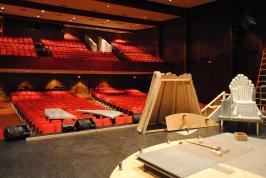 Load-in @ Harper-McNeeley Auditorium