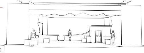 Hook's Ship Sketch