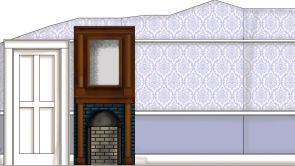 Nursey wall Rendering