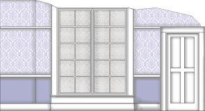 Nursery wall Rendering