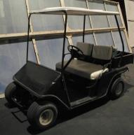 Donated golf cart