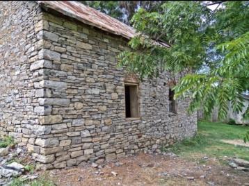 Stone House detail