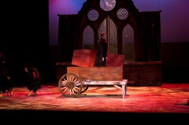 Coffin cart